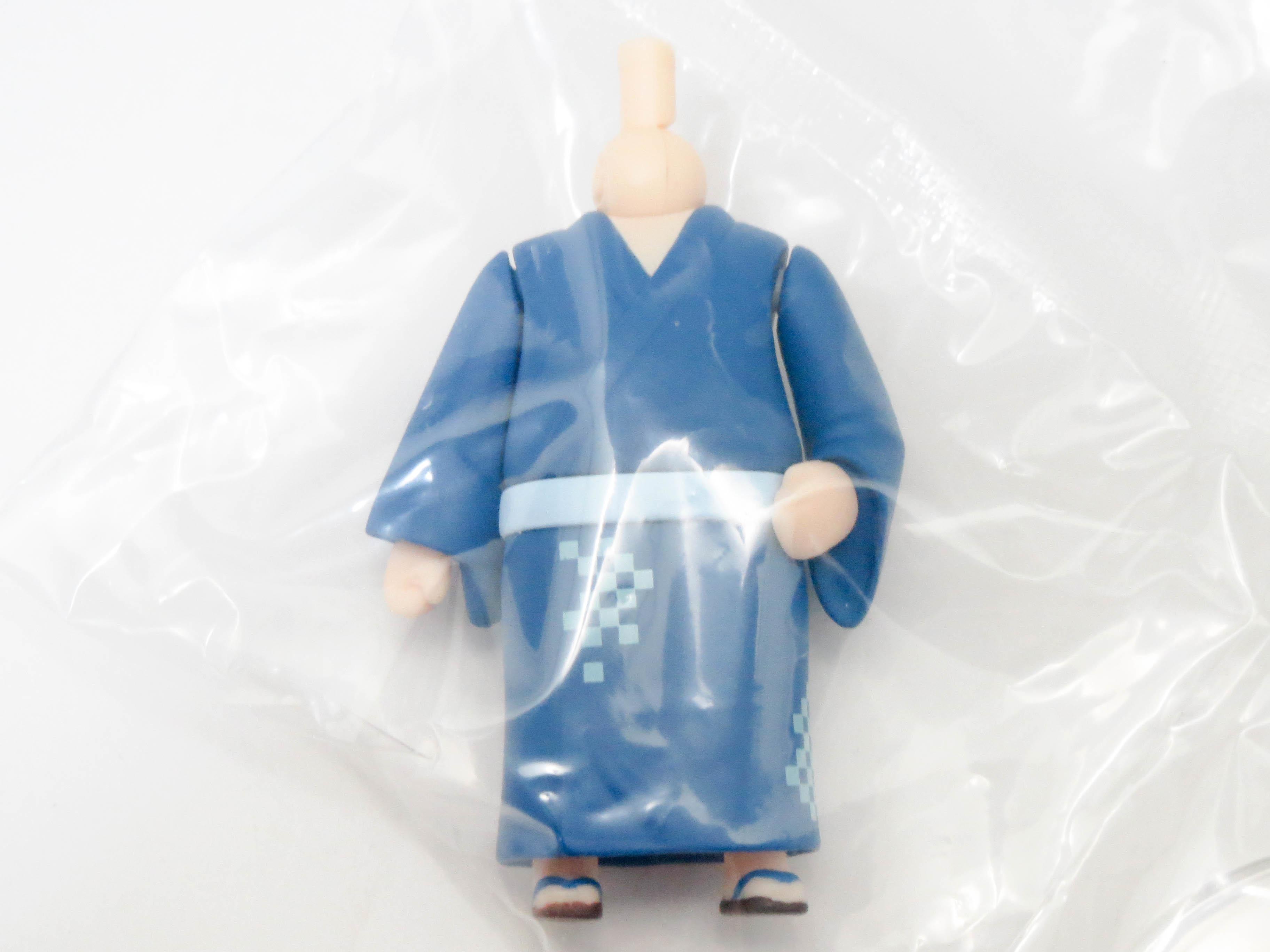 再入荷 ねんどろいどもあ きせかえ浴衣 体パーツ 男の子用浴衣 青色