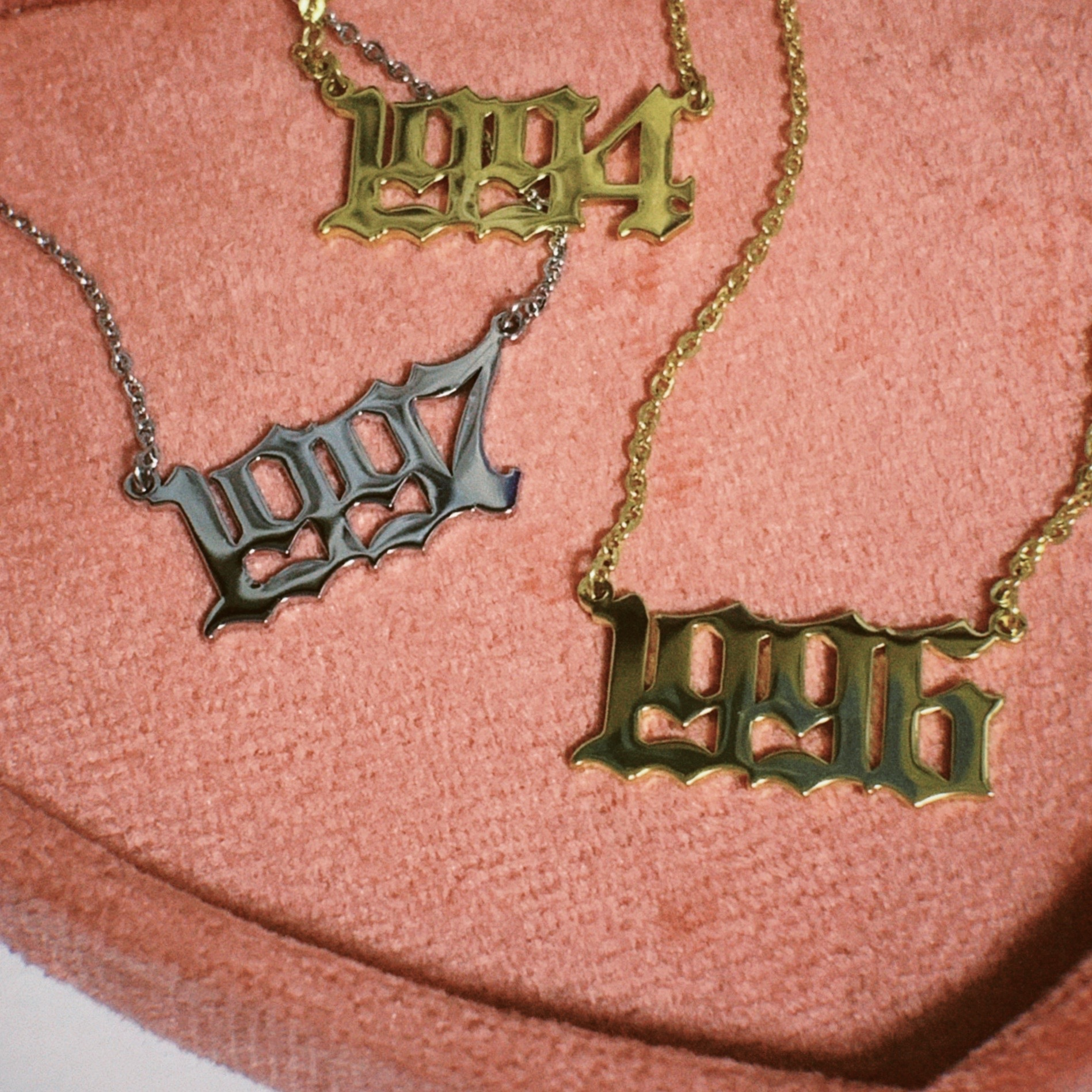Custom Birth Year Necklace