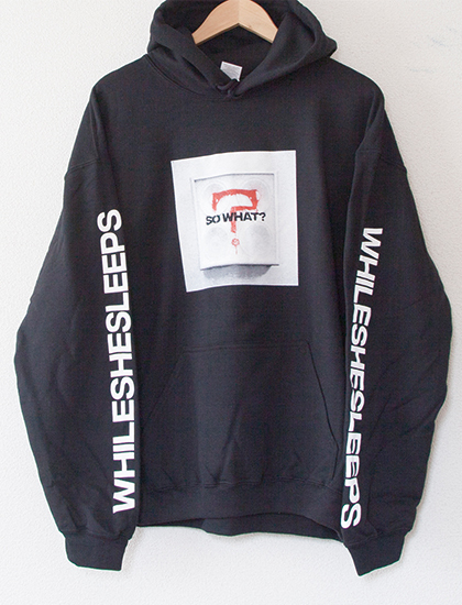 【WHILE SHE SLEEPS】So What? Hoodie (Black)
