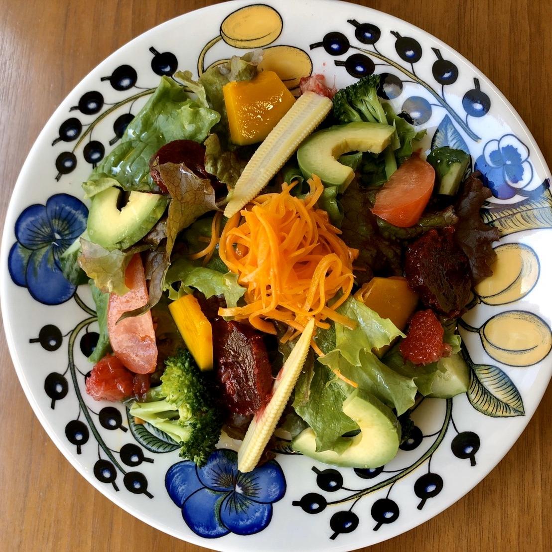 デリ付きお任せ野菜サラダ