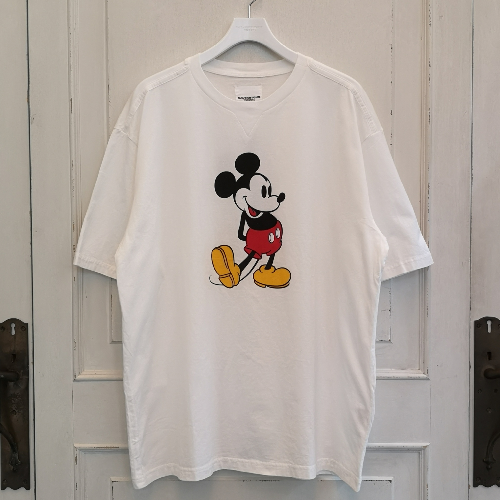 sc.0039aSS20 oversized Mickey Mouse crew neck s/s tee. (original color Mickey Mouse)