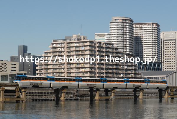 東京モノレール1000形とビル_DSC_0147