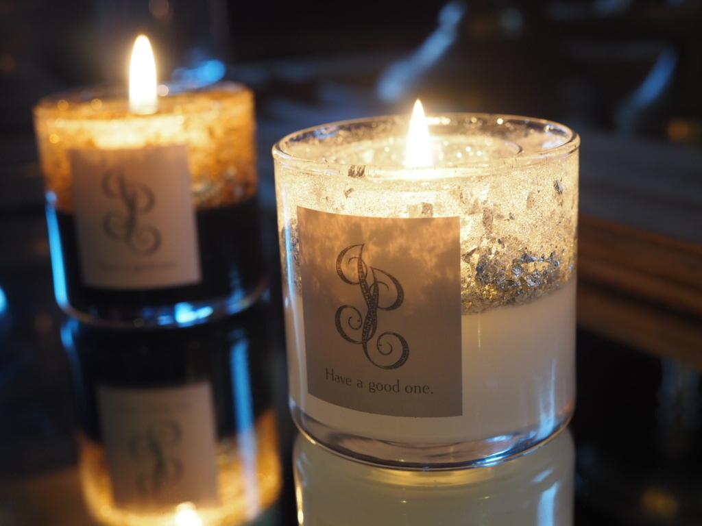 Glitter Candle lantern 3