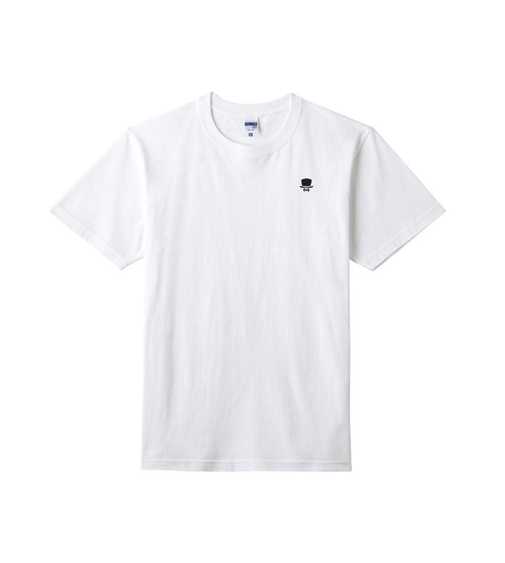 LOGO-T / White 【BANGLA-001】