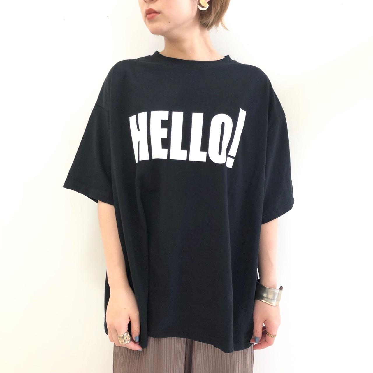 【 Days 】- 119-1470 - HELLO Teeシャツ