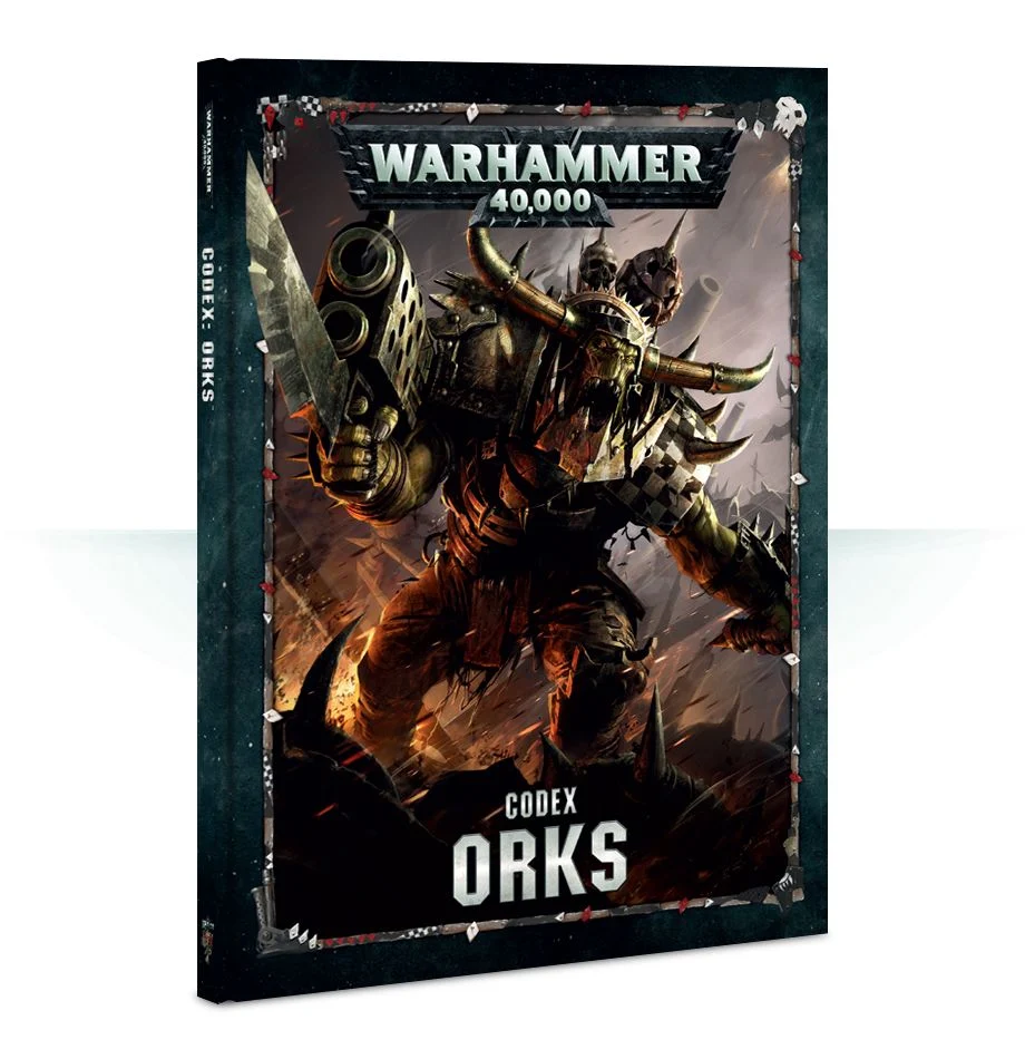 【20%OFF!】Codex: Orks(英語版・8版)