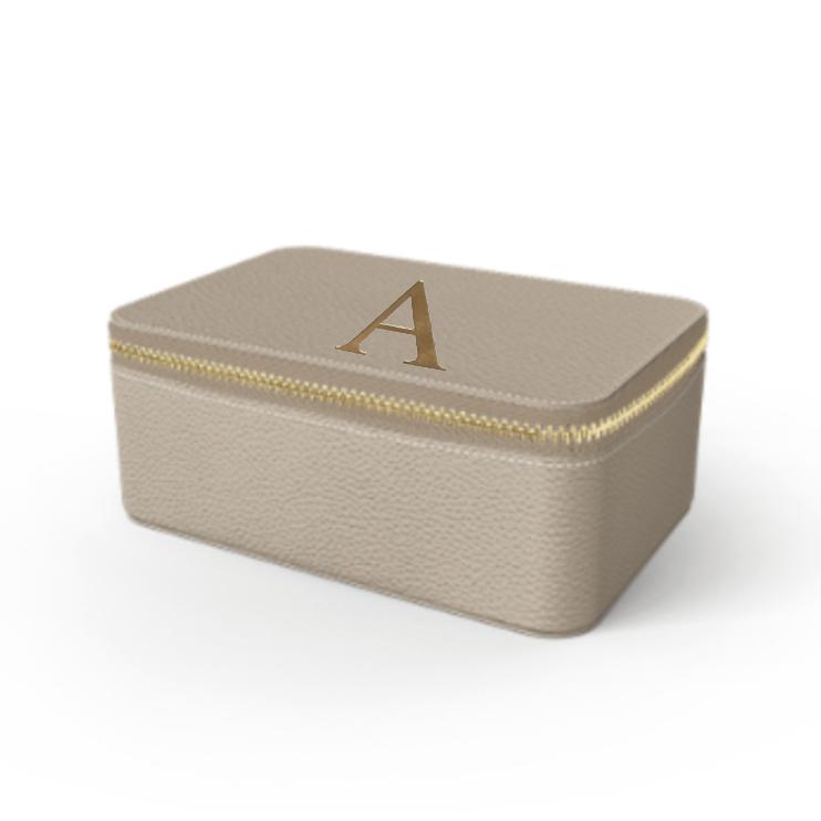 Box Premium Shrink Leather Case (Beige)