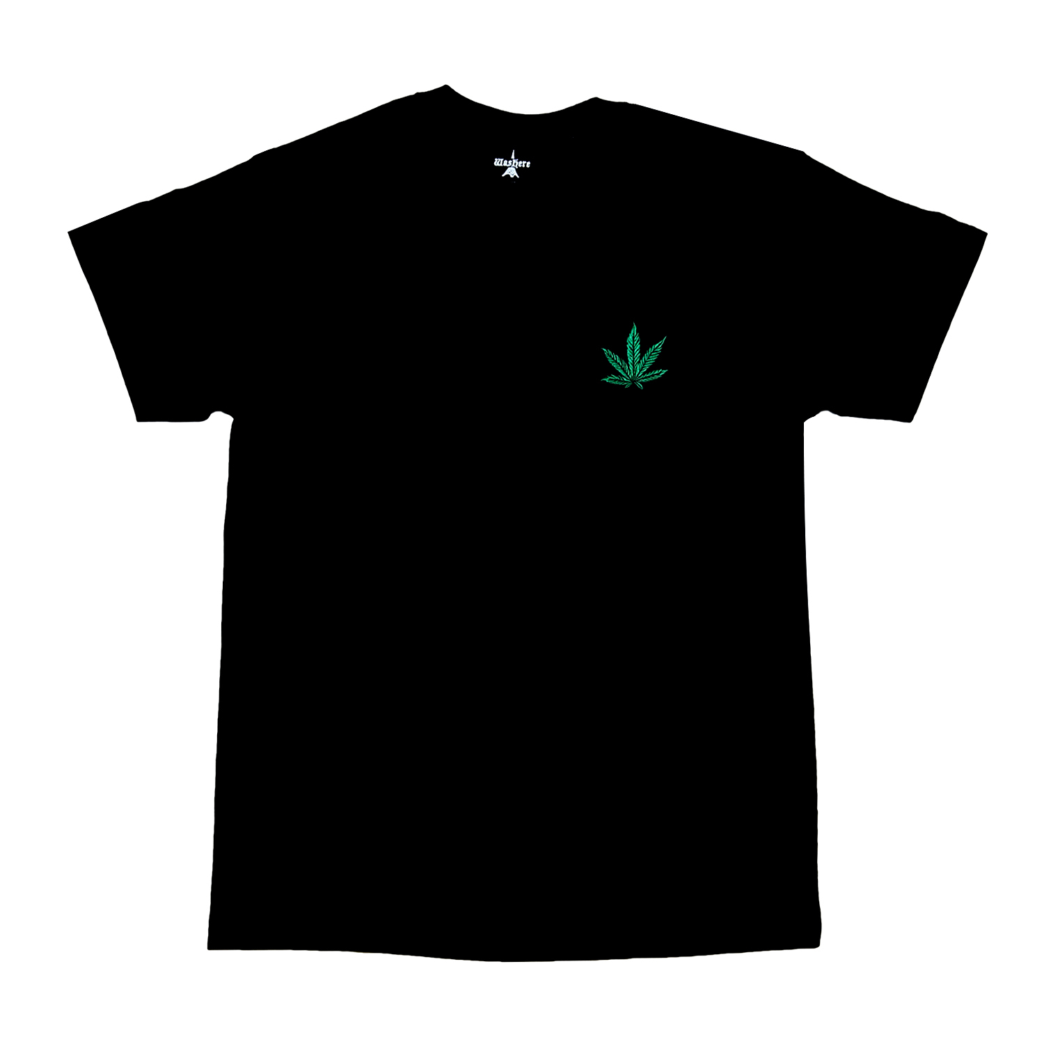WasHere ESSENCIAL TEE (GREEN)