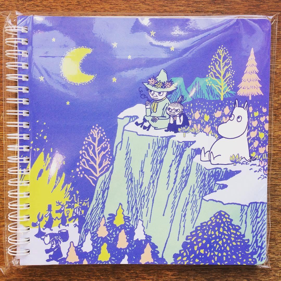 「ムーミン クロッキーノート 2冊セット」(星空/ボート) - 画像2