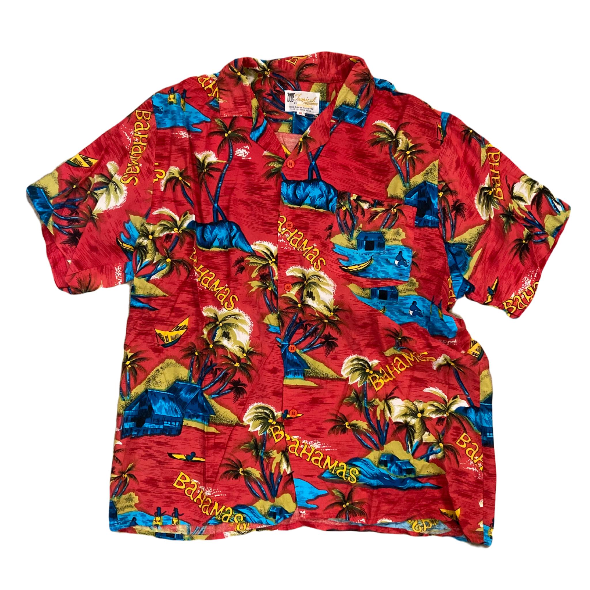 Tropical Fashion By Watanmal Bahamas Aloha Shirts ¥6,300+tax