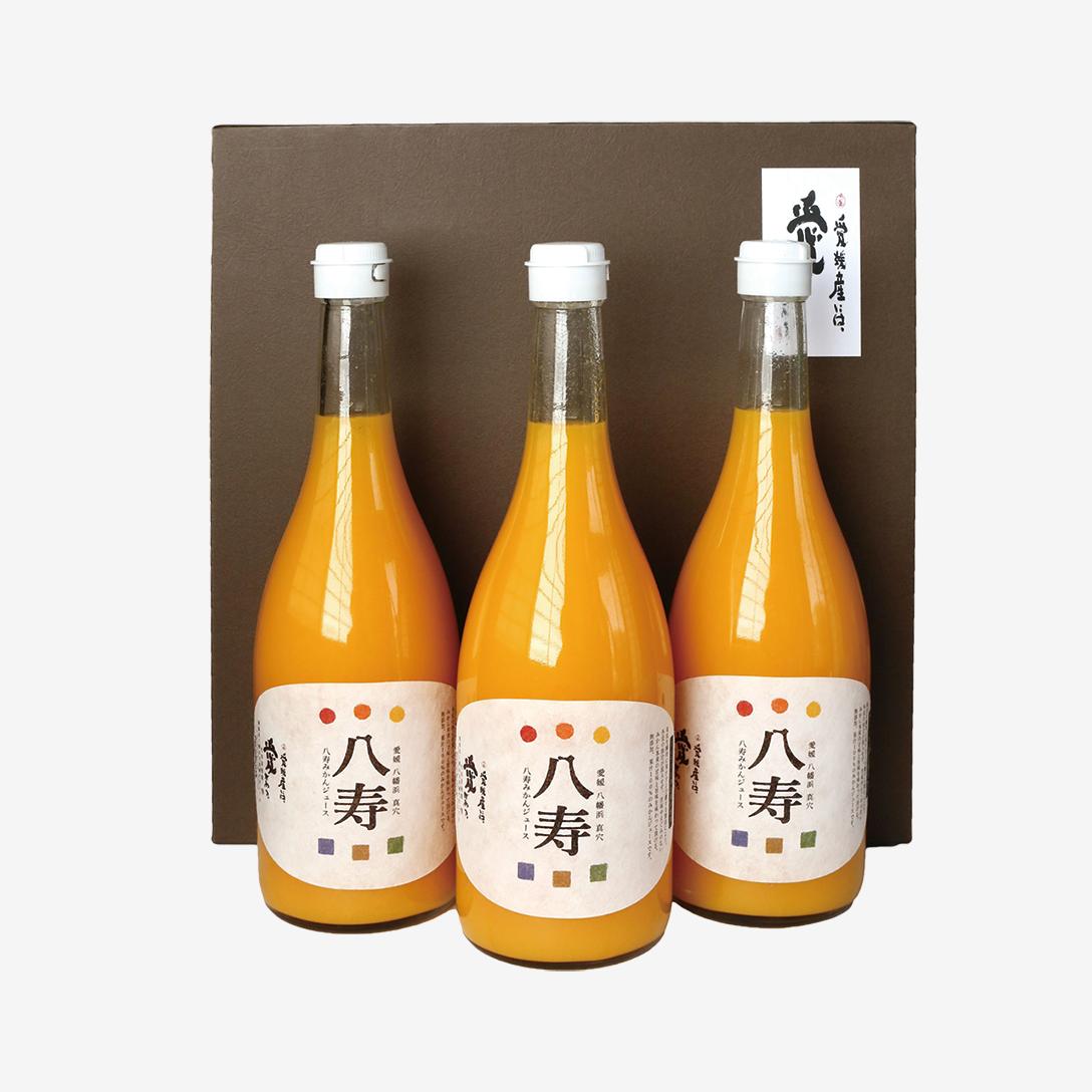 八寿みかんジュース ギフトセット(ジュース3本)
