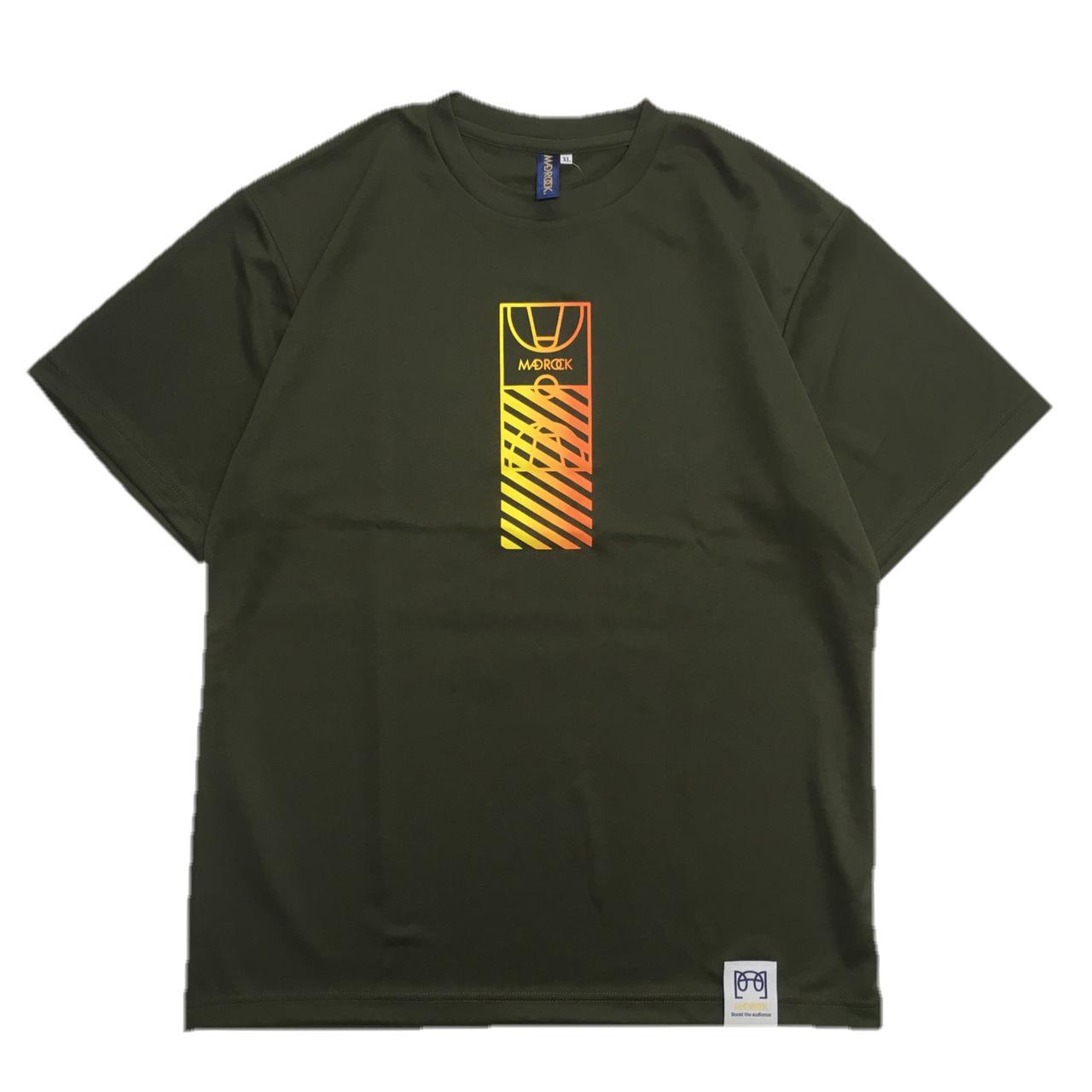 マッドロック / コートグラデーションTシャツ / ドライタイプ / アーミーグリーン