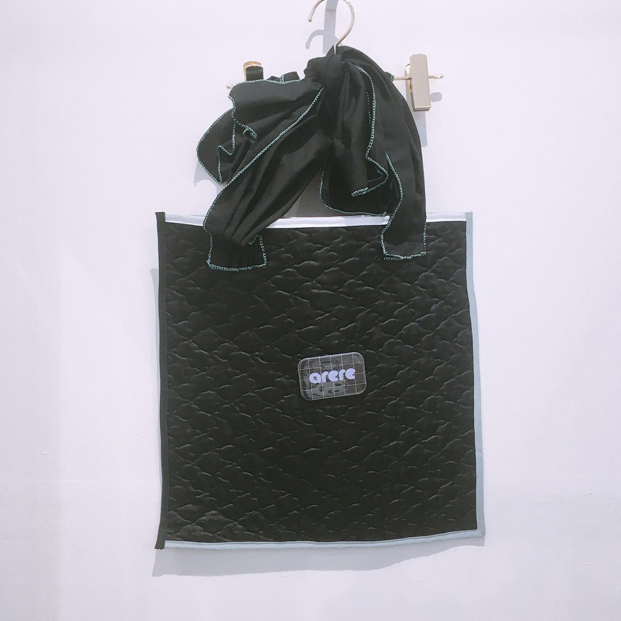 arere / 手提げBAG - BLACK*BLACK
