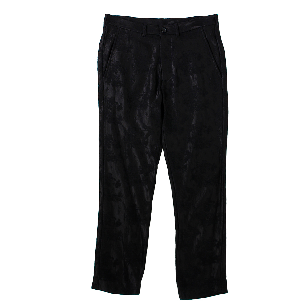 ANN DEMEULEMESTEER Black Trousers