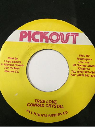 Conrad Crystal(コンラドクリスタル) - True Love【7'】