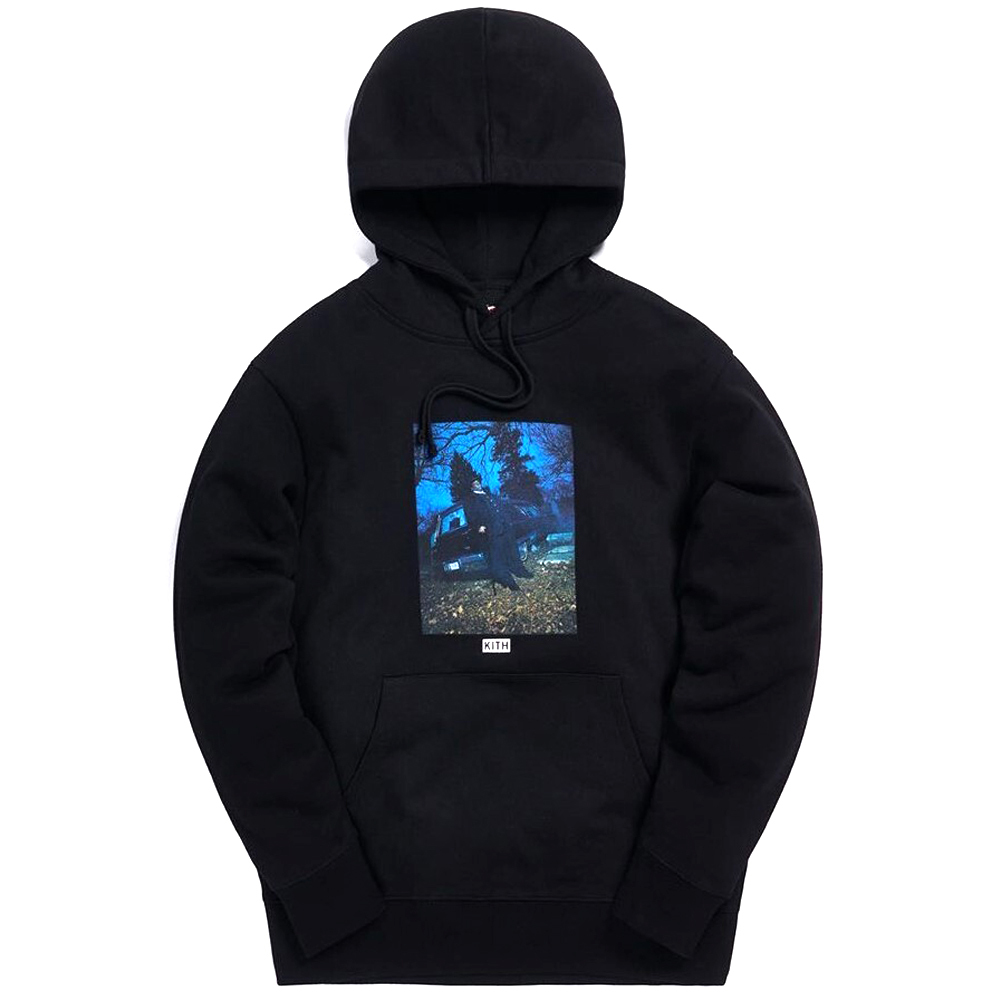 KITH × THE NOTORIOUS B.I.G. Hoodie BLACK