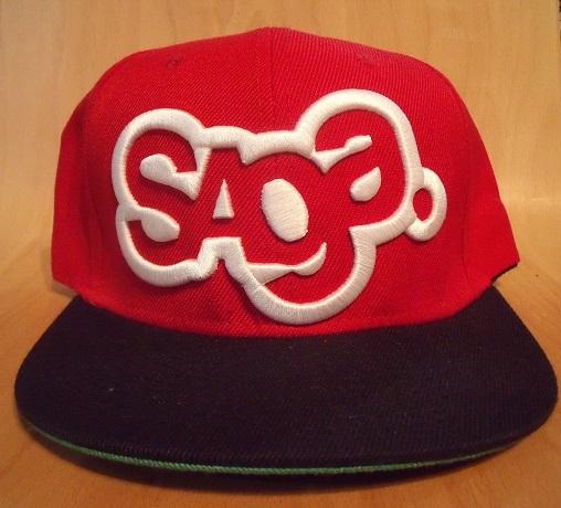 SAGA Snapback Red