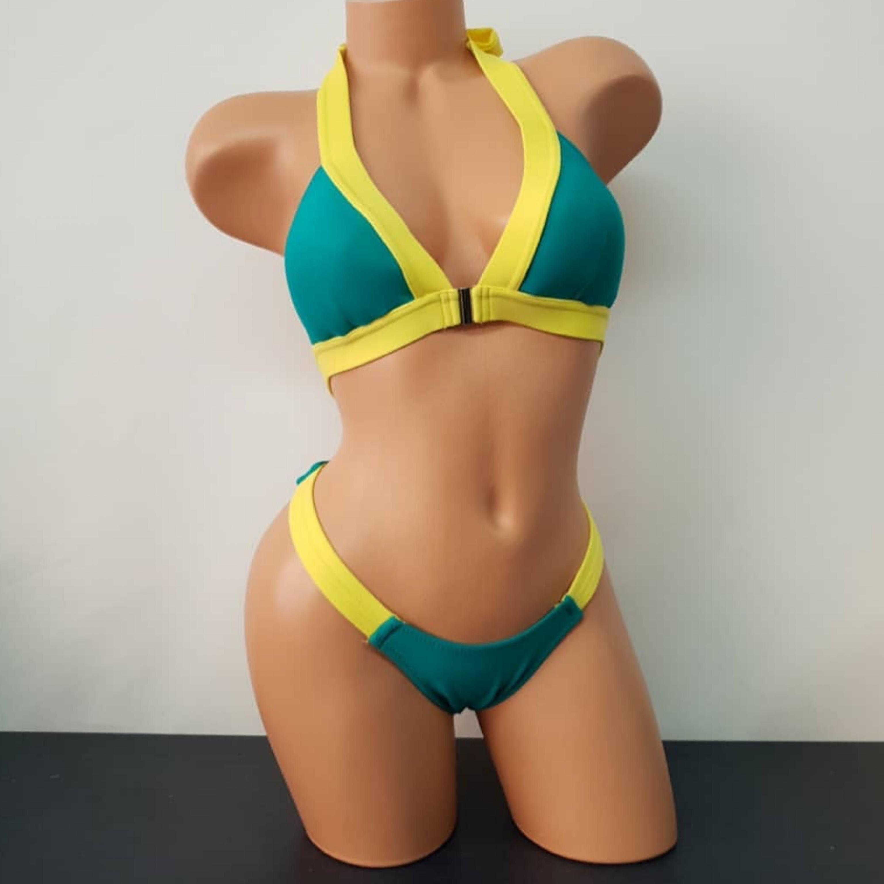 FITKINI 女子 スポーツモデル ウェア Vラインブラ