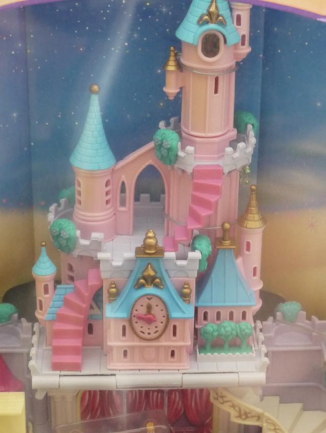 ポーリーポケット ディズニー ライトアップ シンデレラ城 箱入り新品