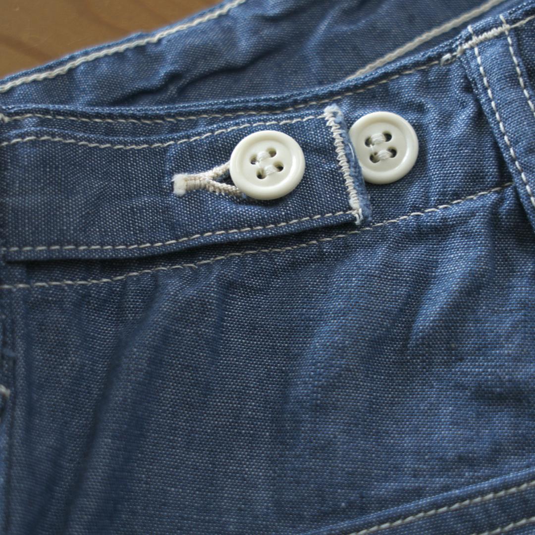 FOB FACTORY エフオービーファクトリー F4164 chambray baker shorts シャンブレーベイカーショーツ【メンズ】