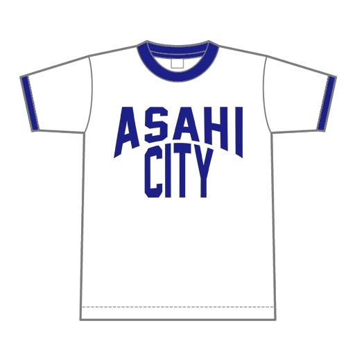 ASAHI CITY リンガーTシャツ【朝日町】