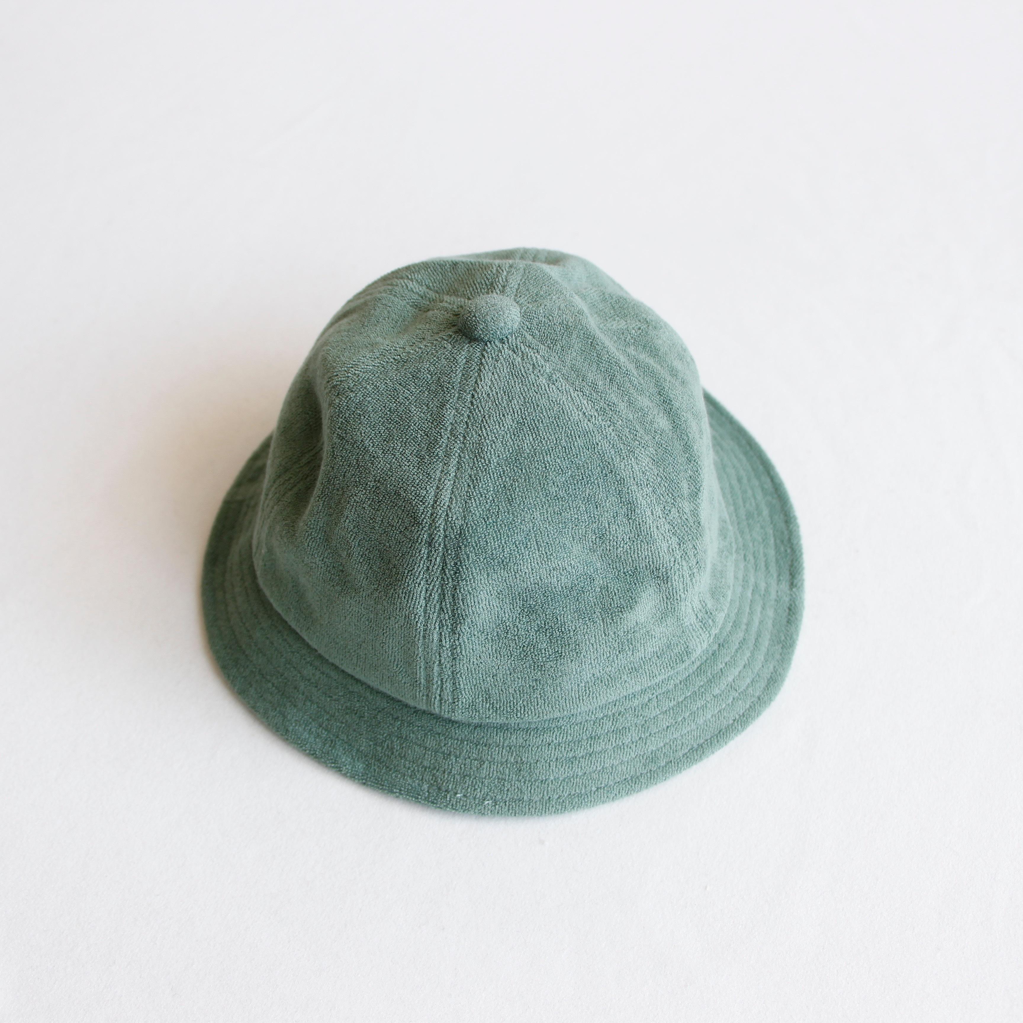 《chocolatesoup 2020SS》SOFT PILE HAT / green