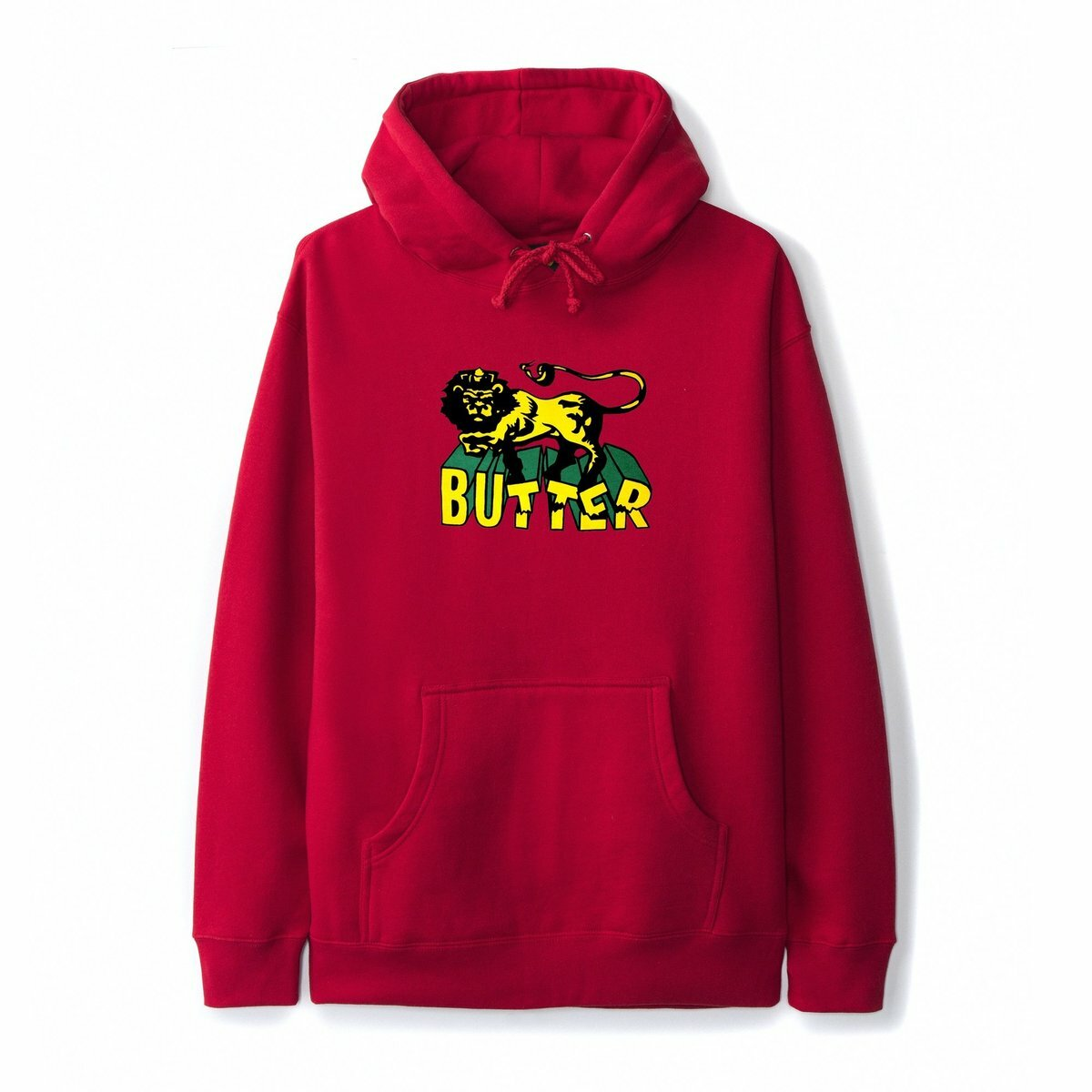 BUTTER GOODS 【JAH PULLOVER, RED】