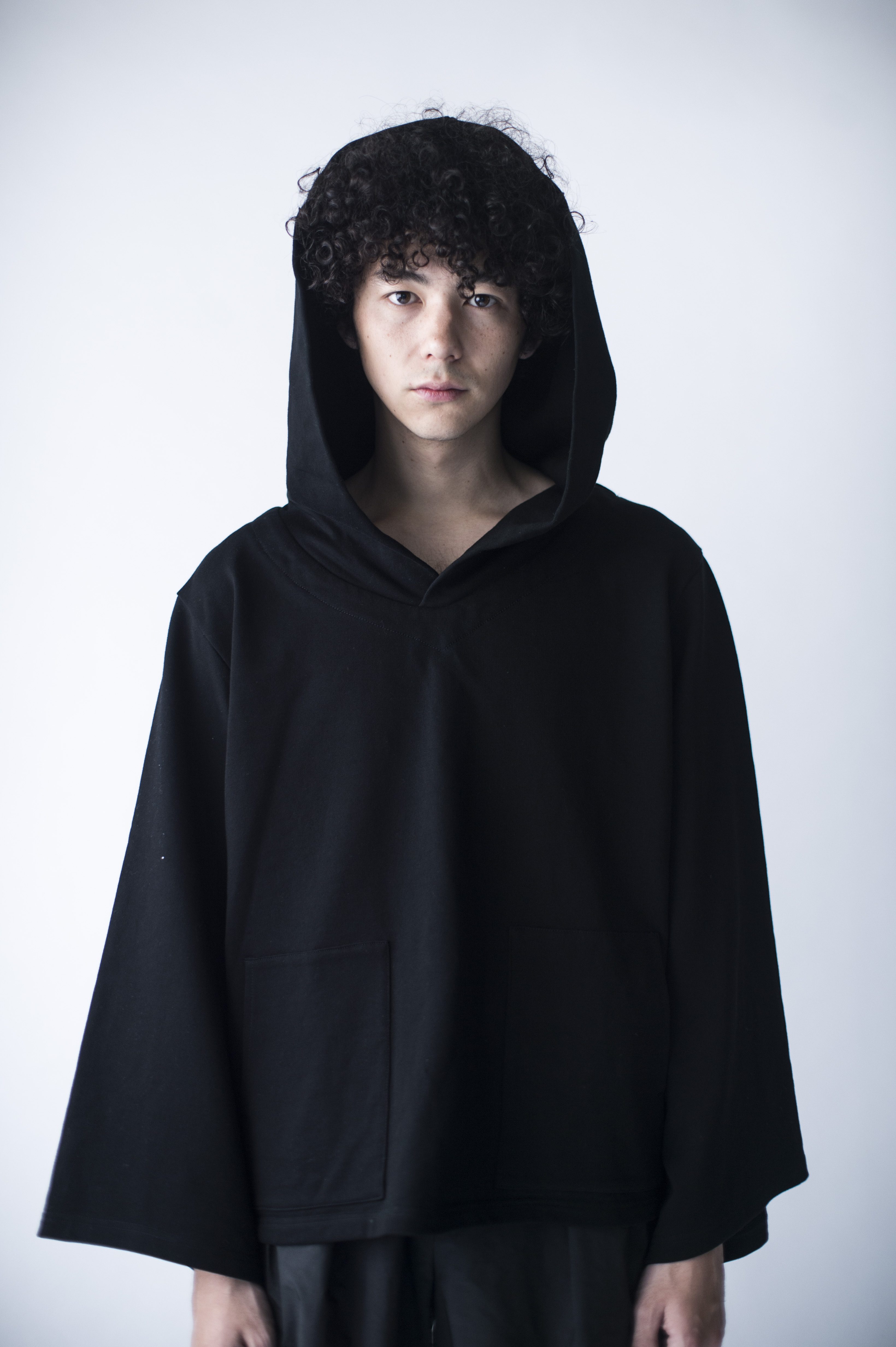 hs20SS-IR01 OVER SIZE HOODIE