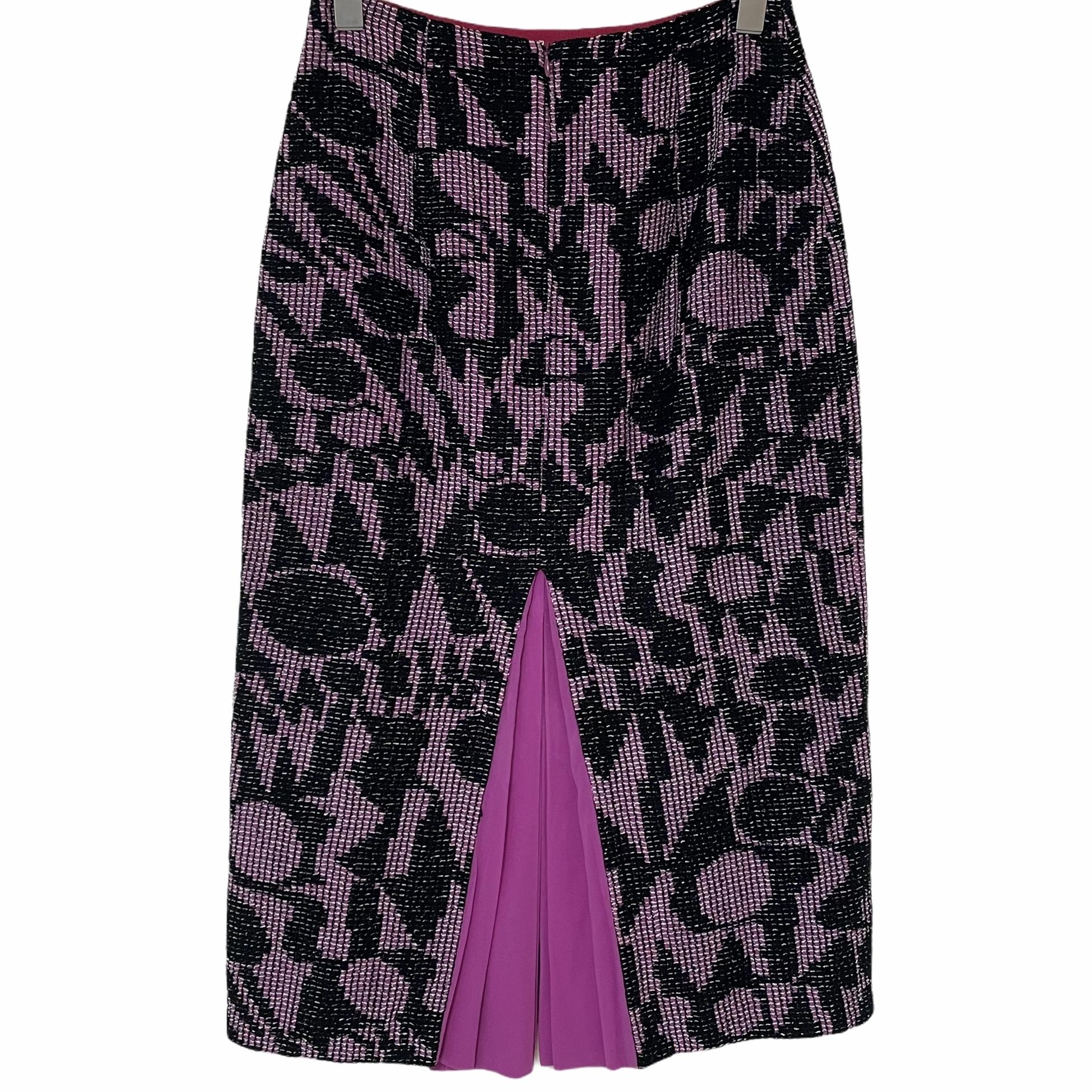 MISSONI Pink Slit Skirt