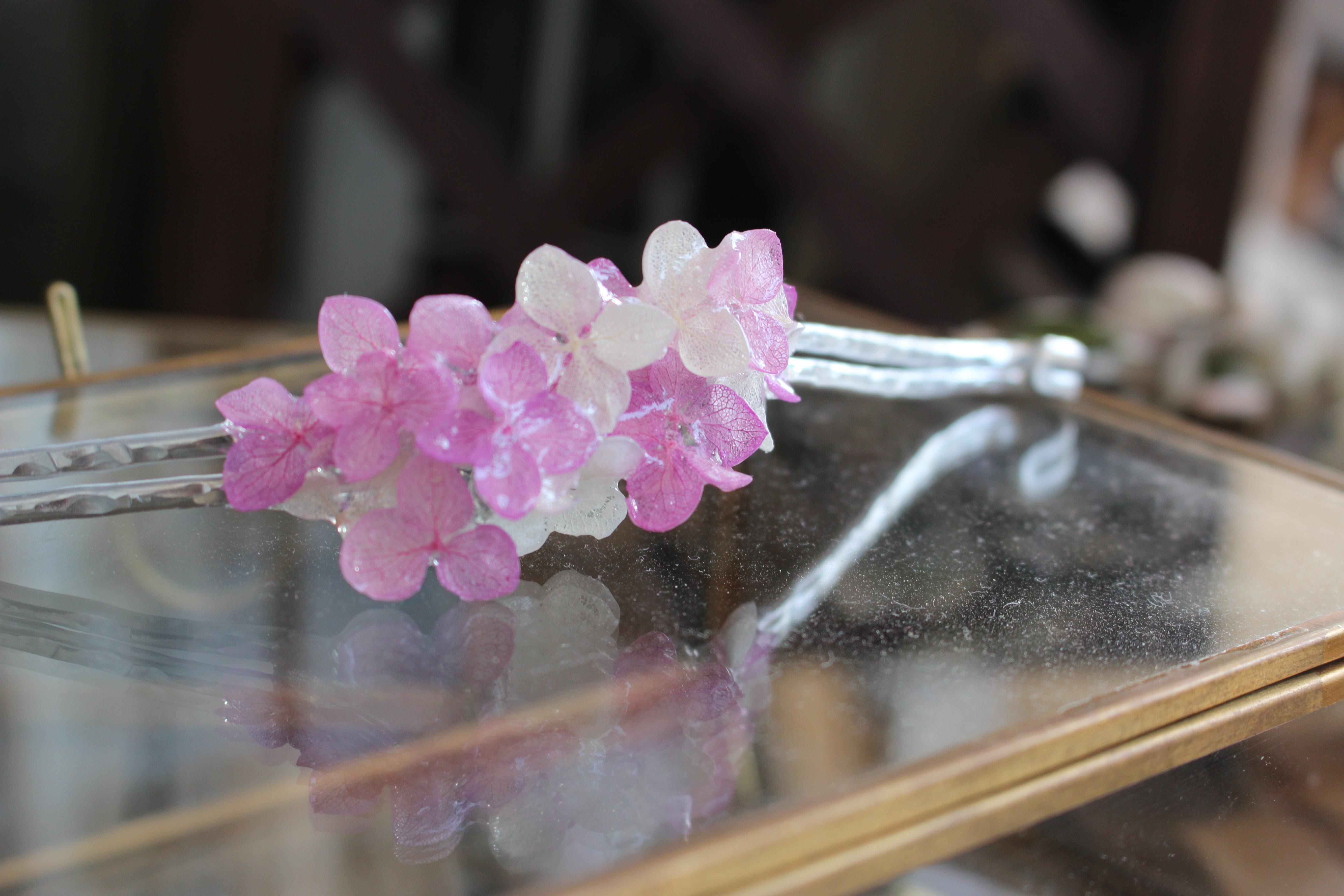 着脱簡単❗️マスクフックアクセサリー pink&white/A