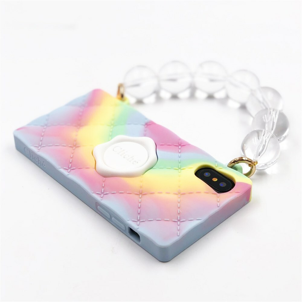 "SEAL STAMPED HANDBAG  ""TIEDYE"" for iPhoneXSMAX"
