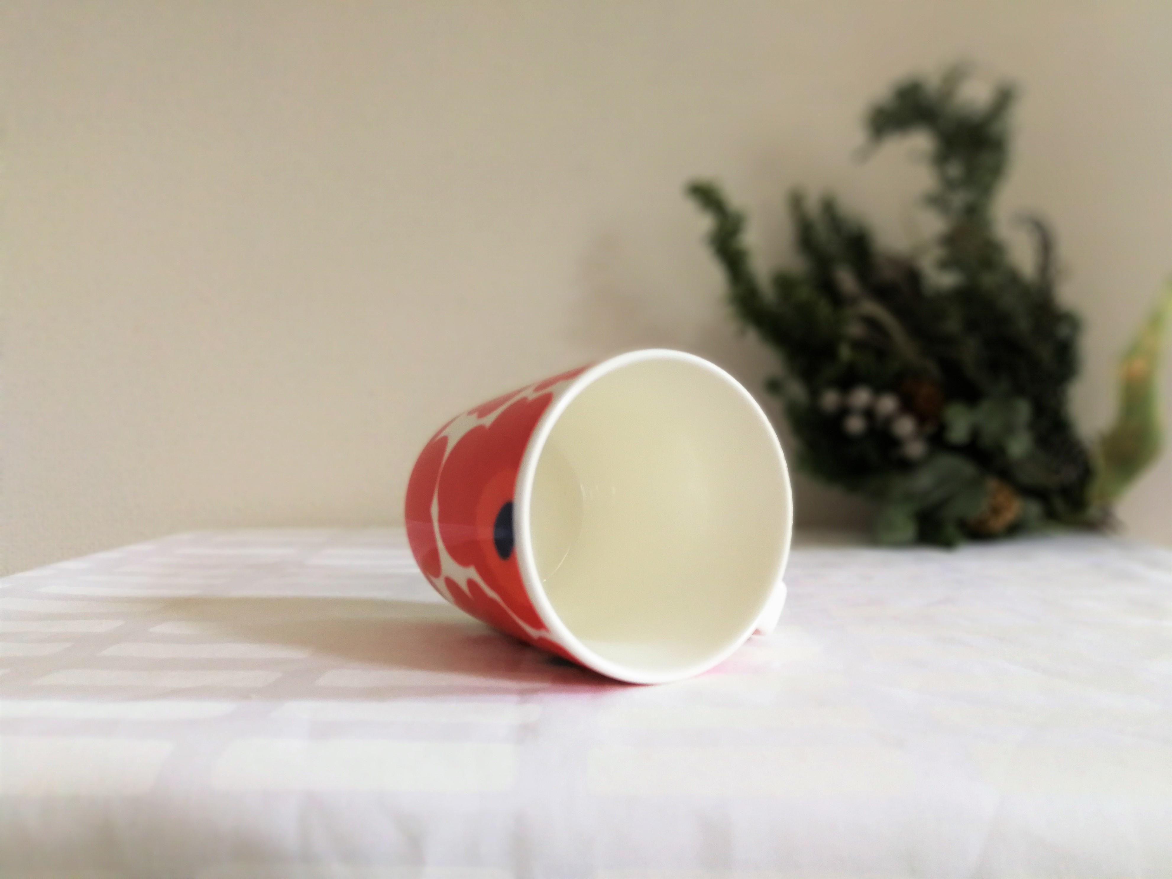 マグカップ / marimekko マリメッコ / UNIKKO ウニッコ  (レッド) 250ml