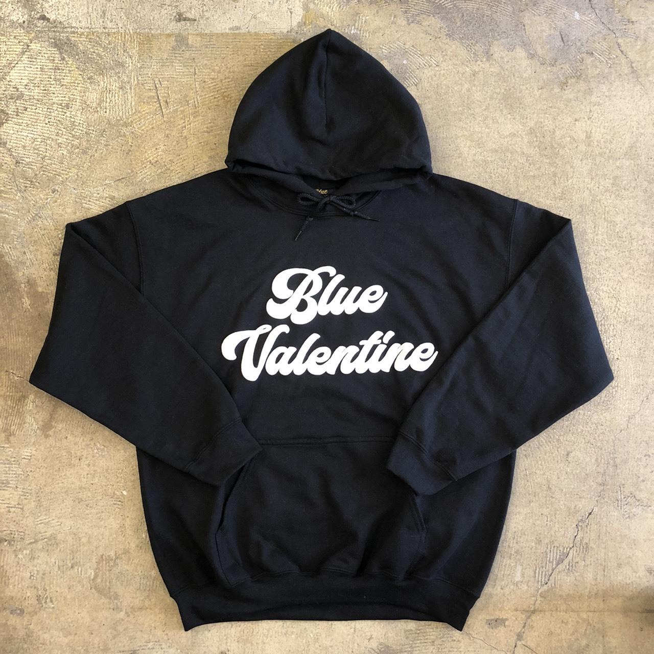 BLUE VALENTINE #HW Logo Hoodie BLACK