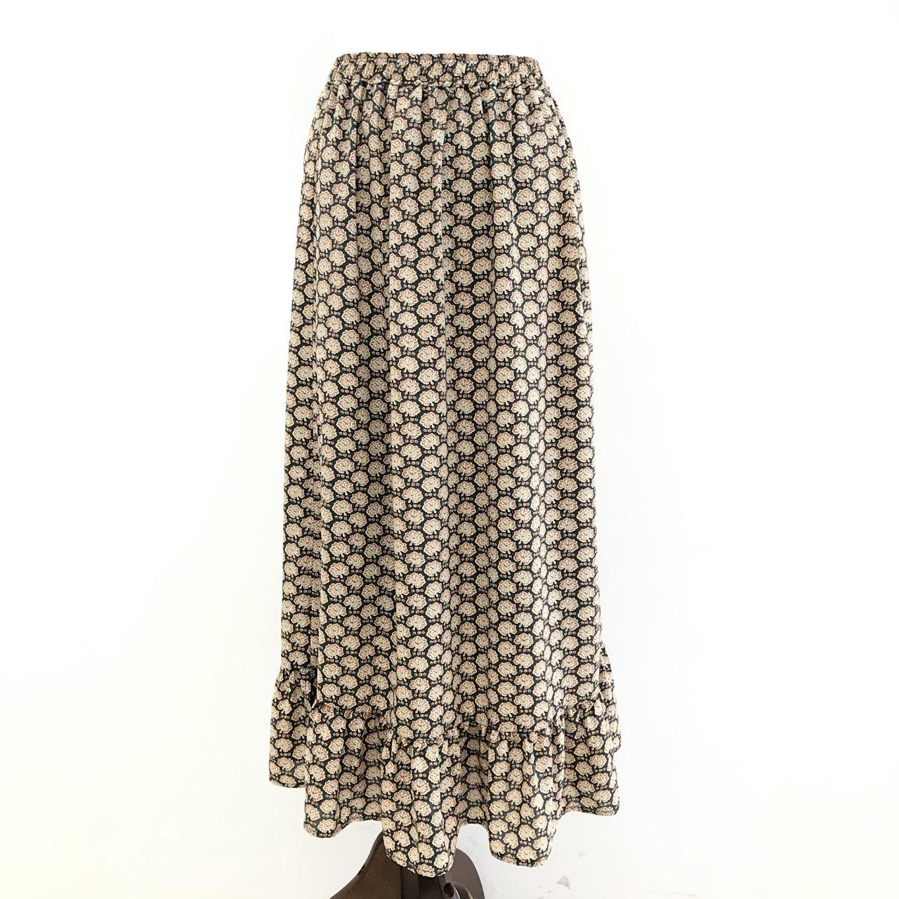 【 CHIGNONSTAR 】- 2601-238 - flower lowティアードスカート