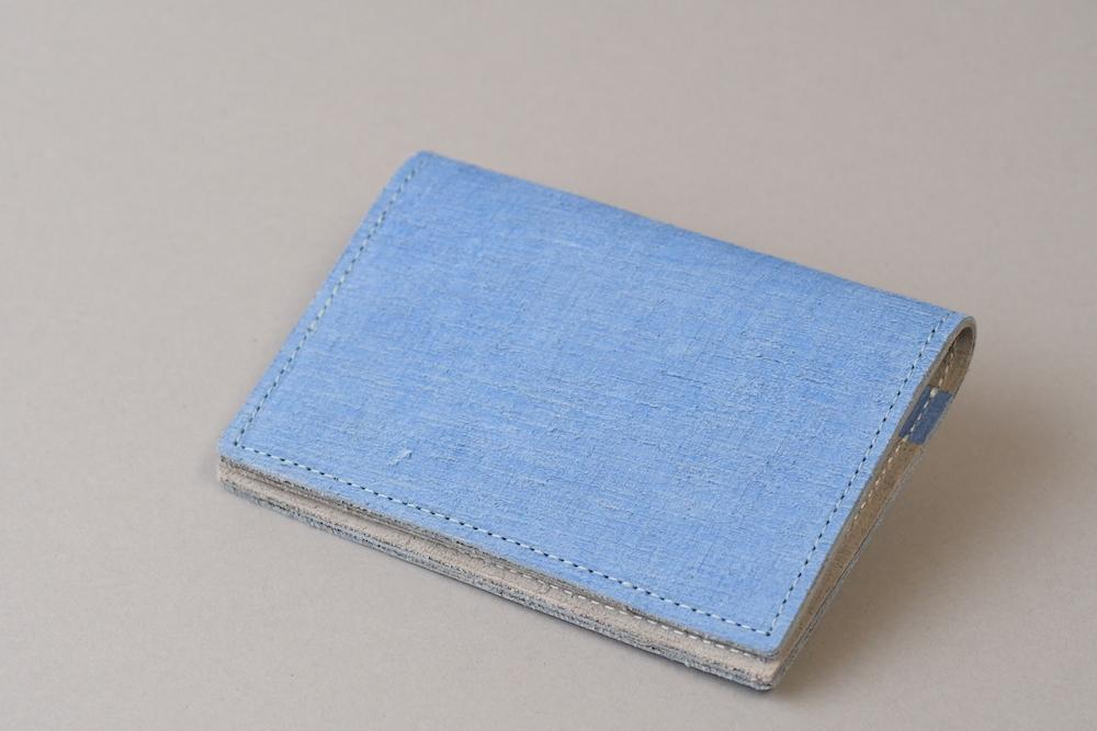 カードケースSC □コバルトブルー・グレー□ - 画像1