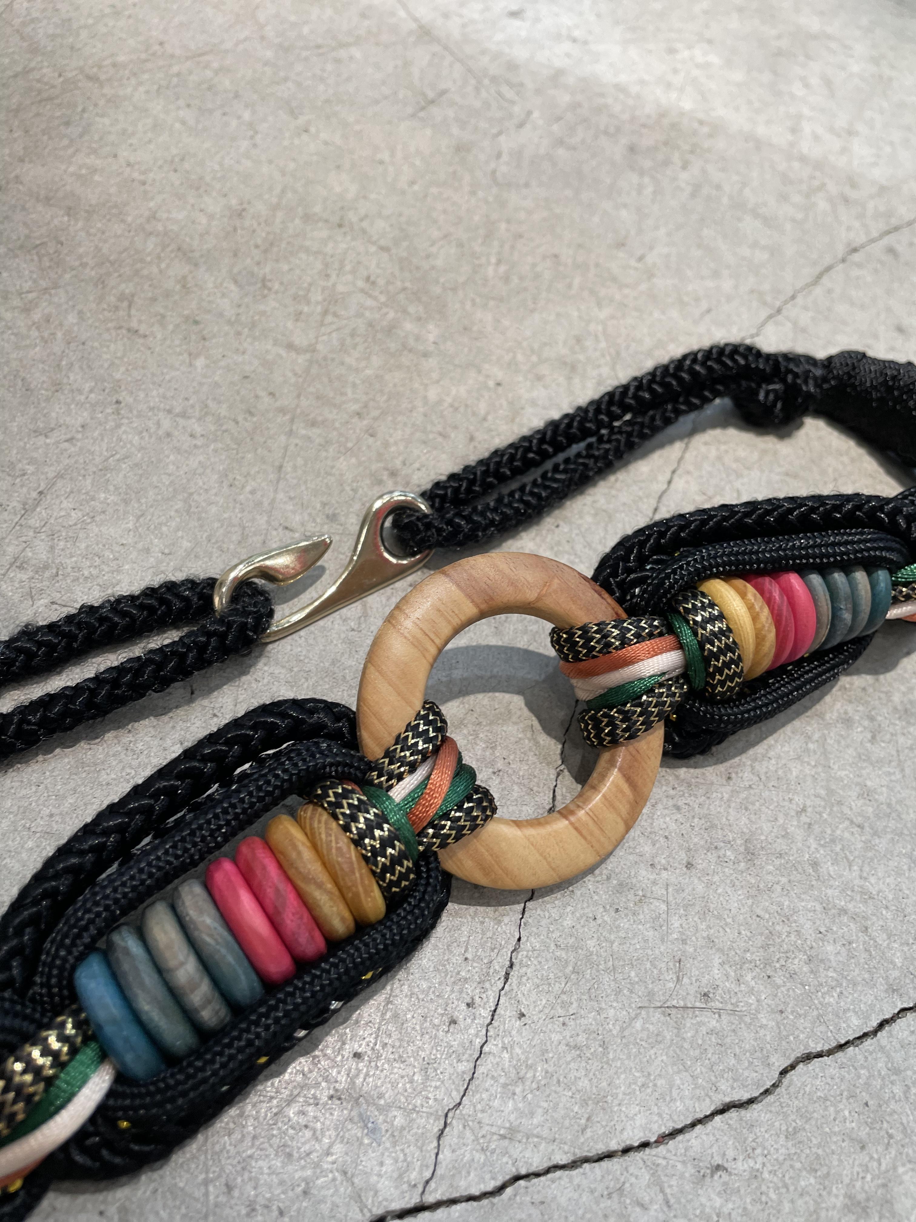 vintage rope belt