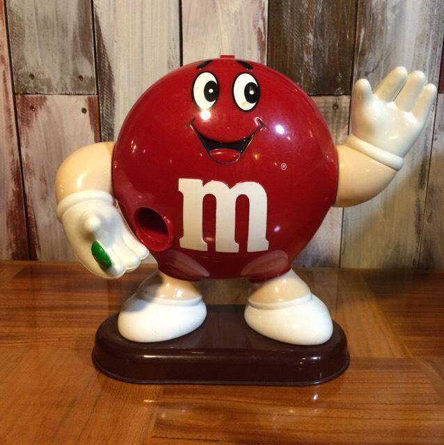 1991年製m&m'sチョコレートディスペンサー