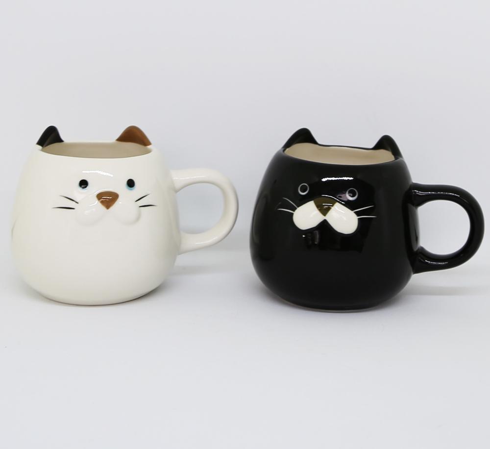 猫マグカップ(ぽってりねこマグ)全2種類