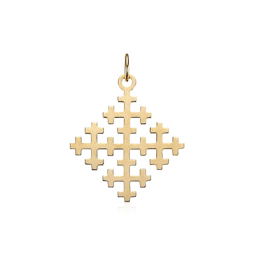 スタンダード ペンダント 【Special Cross - K10YG】