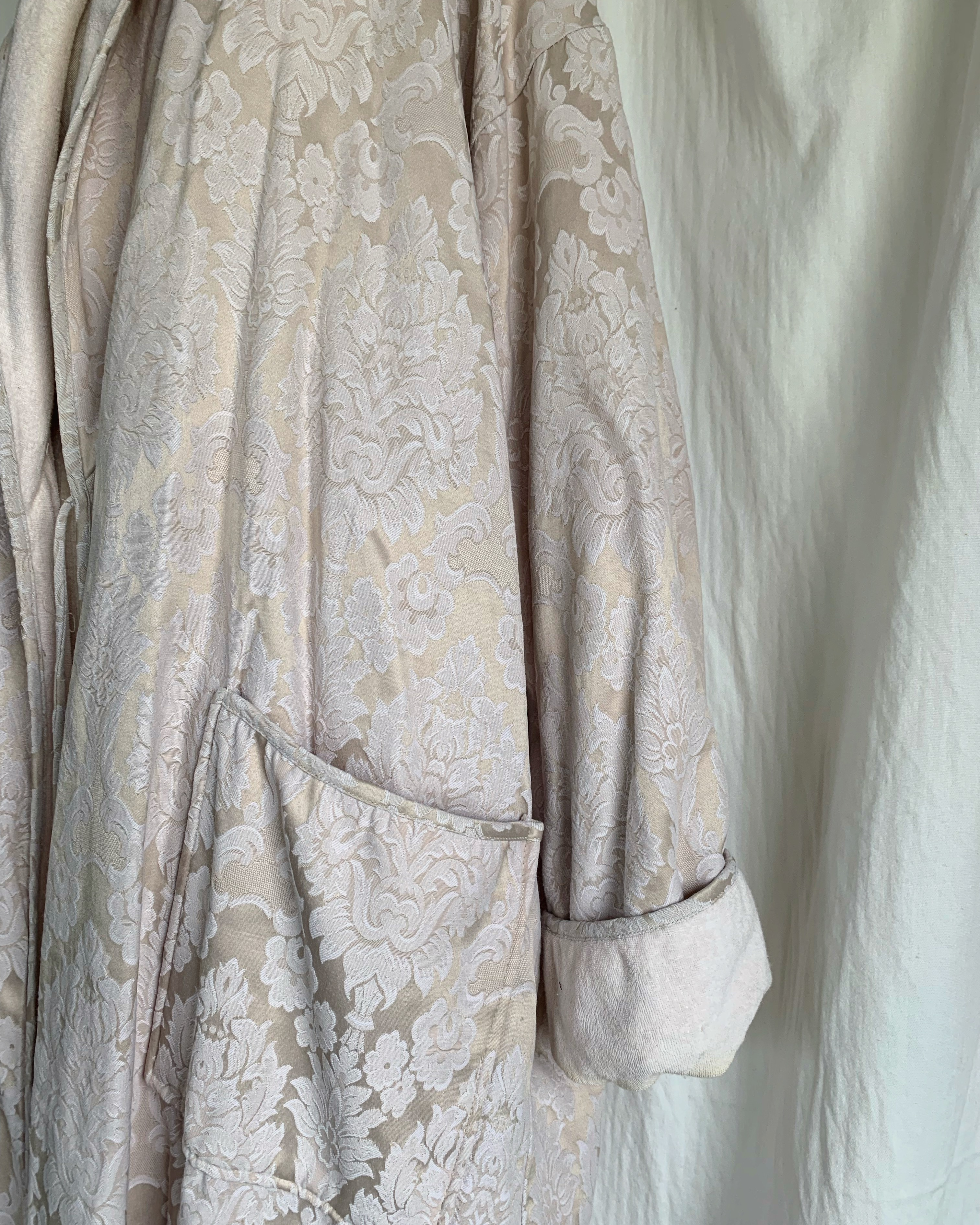 vintage tapestry design gown