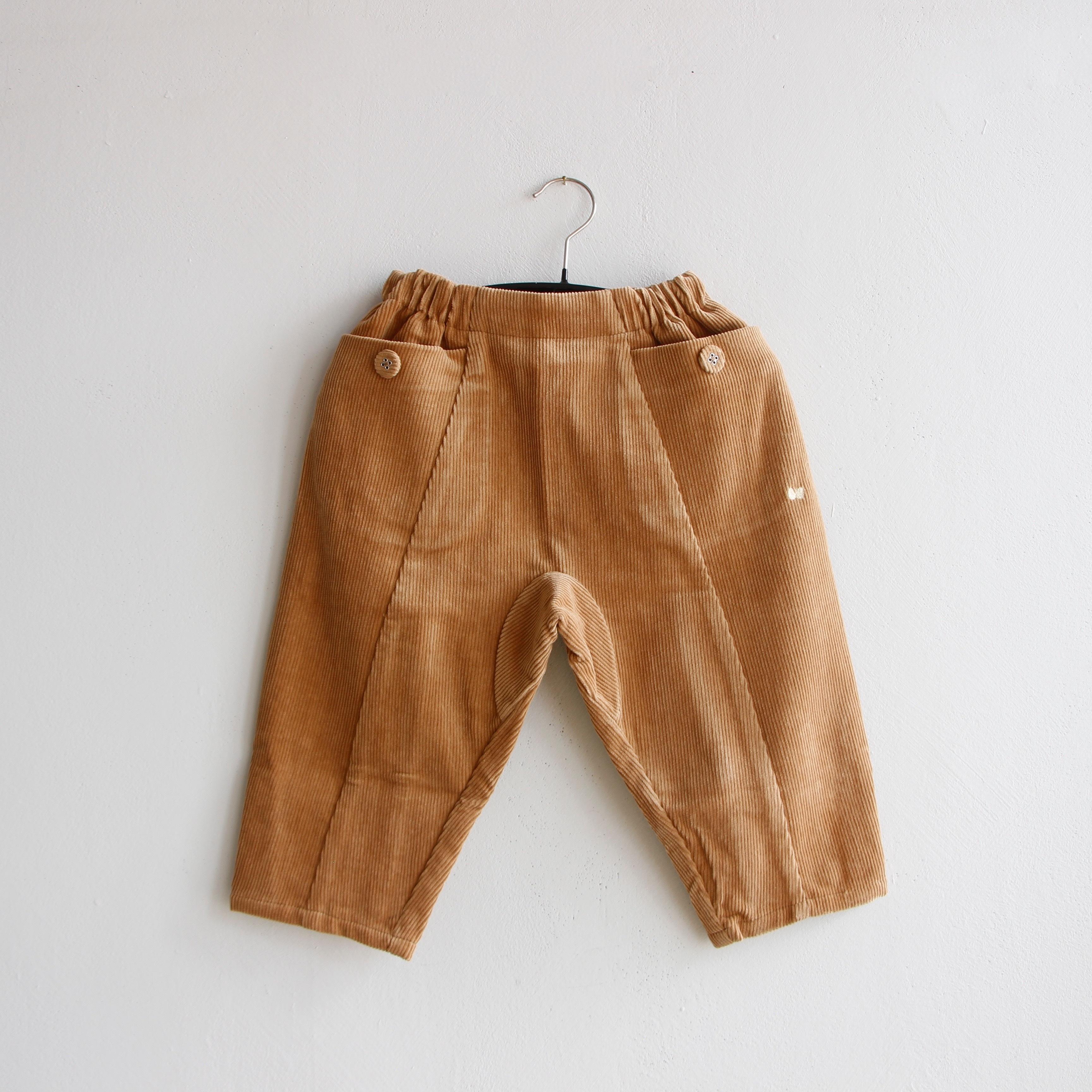 《mina perhonen 2020AW》bonbon パンツ / light brown / 110cm