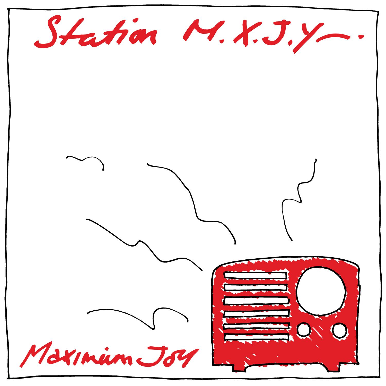 MAXIMUM JOY - Station M.X.J.Y.  (LTD. Red LP)