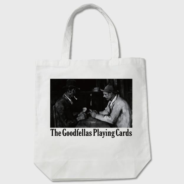 セザンヌ「グッドフェローズ - カード遊びをする人々」 トートバッグ