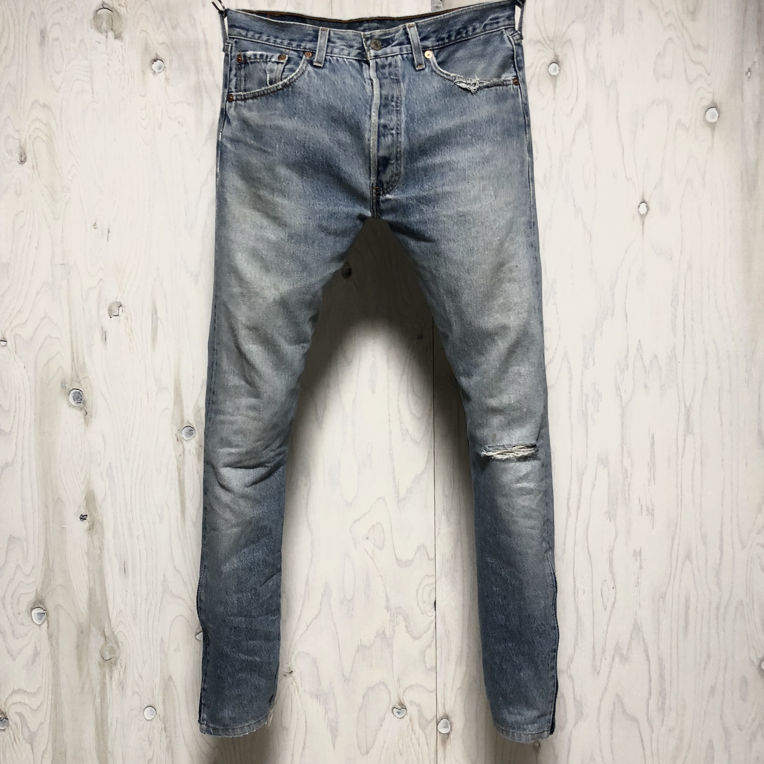 Levi`s 501 riri zip custom w33