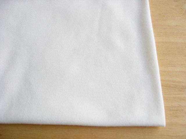 J&B定番 綿コーマ糸40双糸天竺ニット オフホワイト #03 NTM-2267