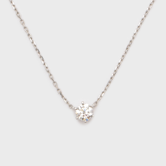 ENUOVE frutta Diamond Necklace K18WG(イノーヴェ フルッタ 0.3ct K18ホワイトゴールド ダイヤモンドネックレス アジャスターワカンチェーン)
