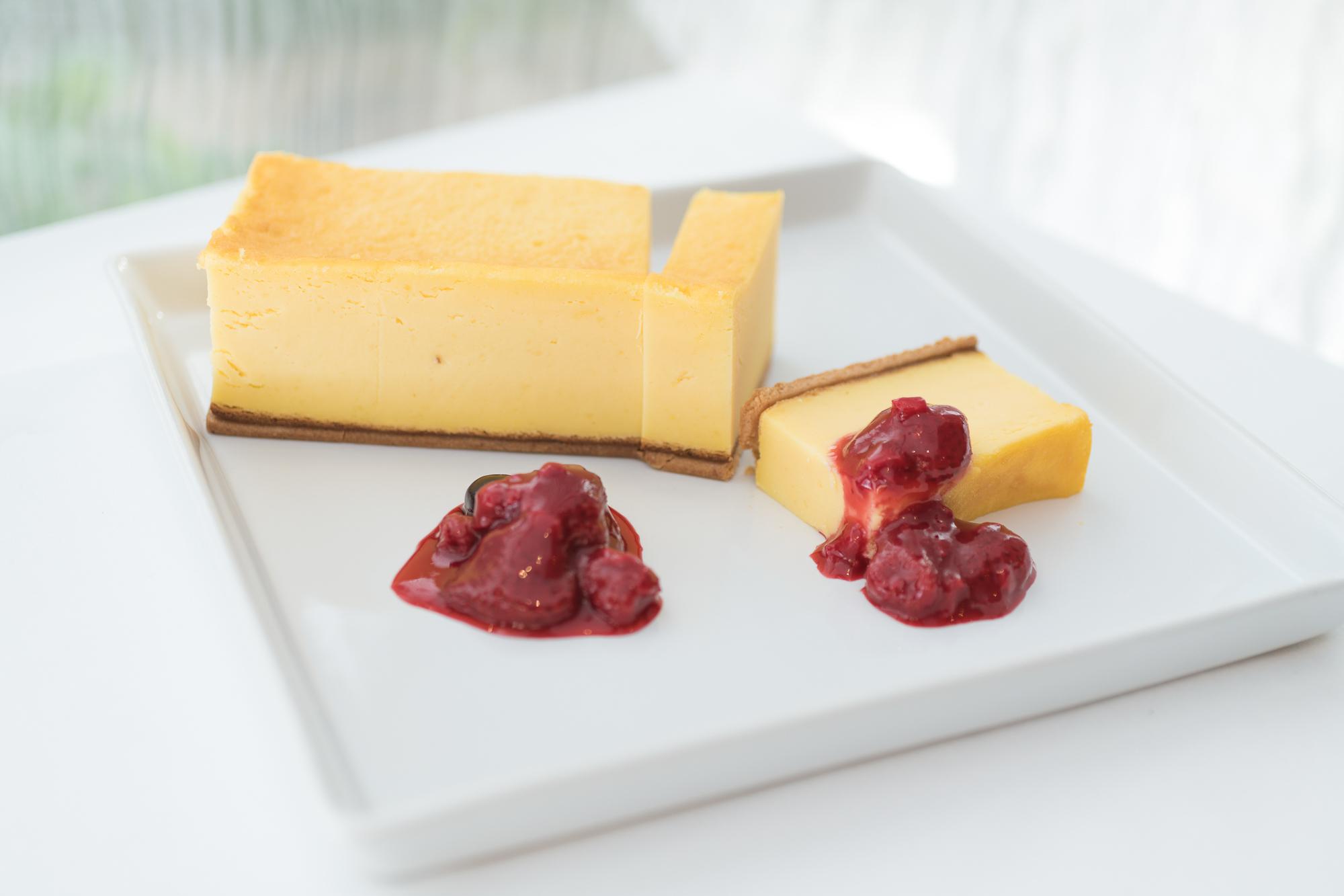 【ラ・ロシェル山王 オリジナル】濃厚ベイクドチーズケーキ