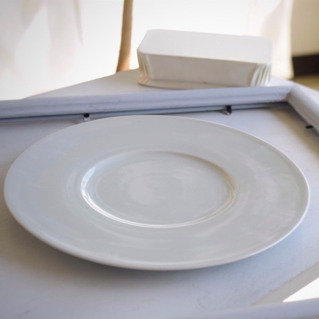 こいずみみゆきさん   6寸広リム皿