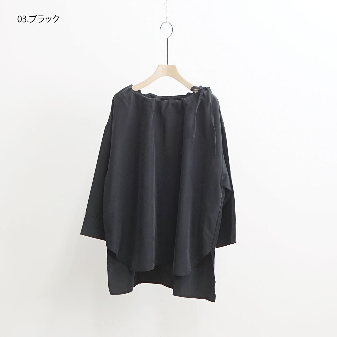 Neu-tralwearlife ニュートラルウェアライフ リボンブラウス 【返品交換不可】 (品番n-100)