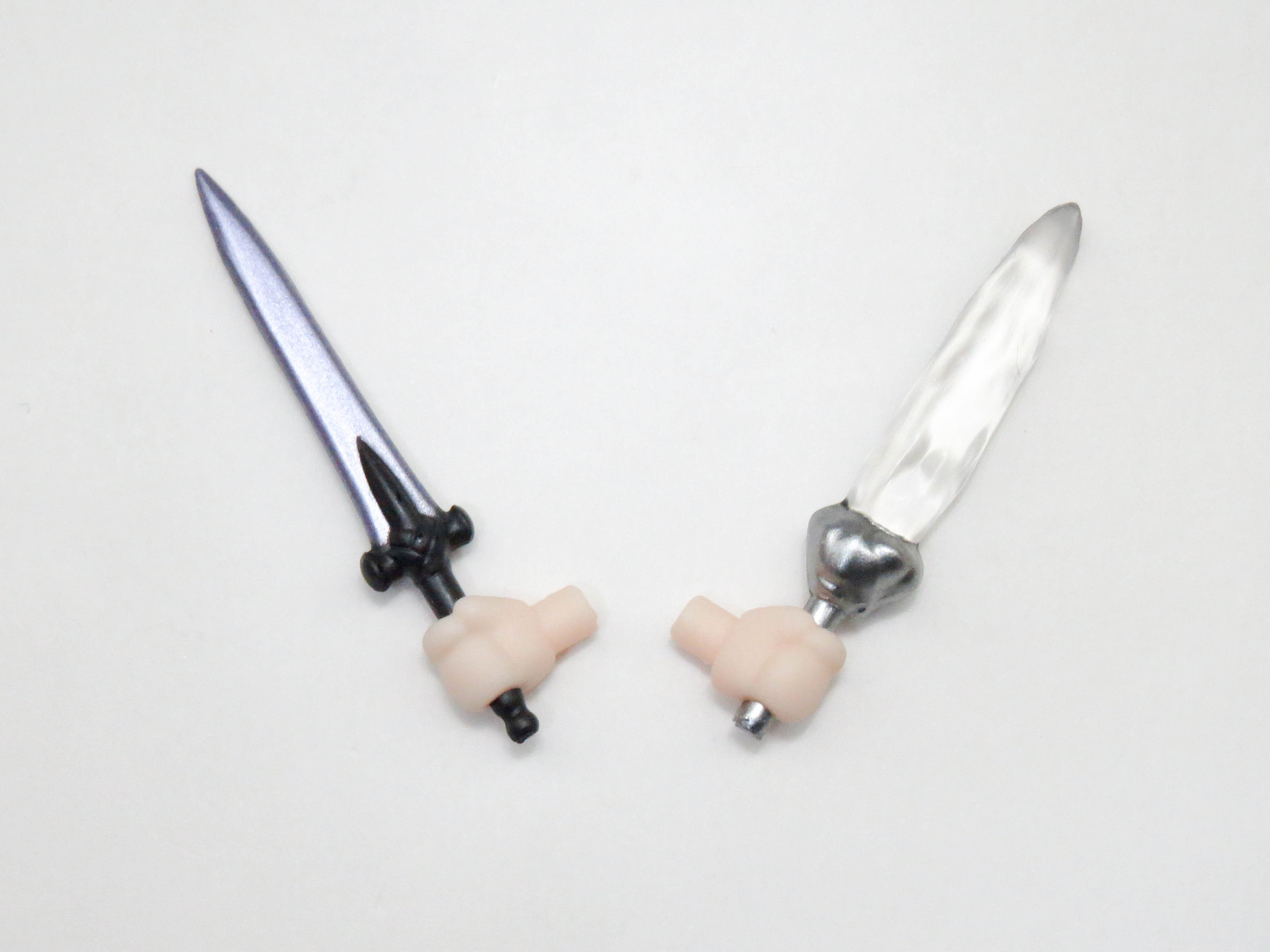 再入荷【409】 遠坂凛 小物パーツ アゾット剣と宝石剣ゼルレッチ ねんどろいど